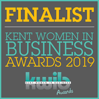 Kent Women in Business Awards 2019 Finalist