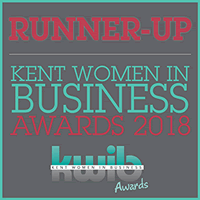 Kent Women in Business Awards 2018 Runner Up